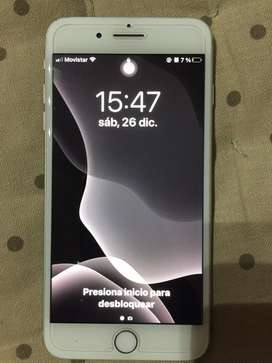 Iphone 7plus 128gb color gris plata liberdo