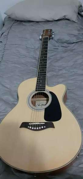 Guitarra G. Shelter electroacustica