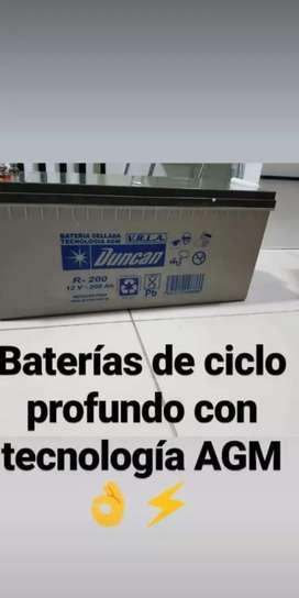 Bateria ciclo profundo