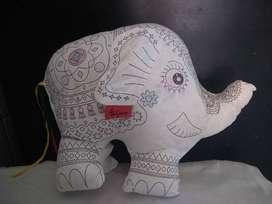 Elefante Para Pintar Lavar alto  28cm x 36 cm