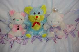 Combo 3 peluches
