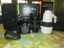 SONY A7r2 equipo profesional