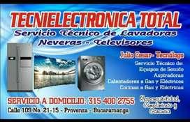 reparación tv smart lg samsung lavadoras neveras televisores