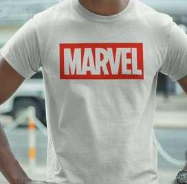 Camisas Marvel