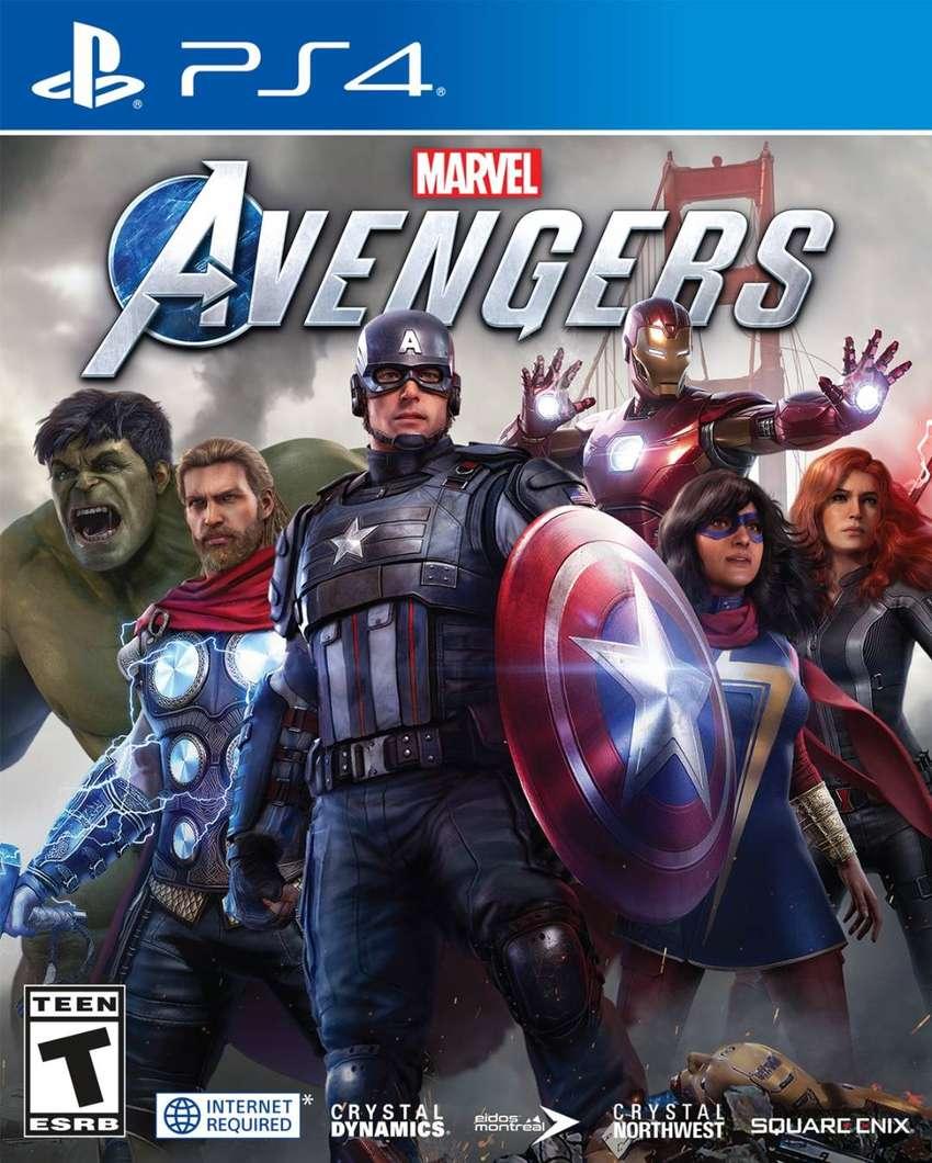 Marvel Avengers Ps4 0