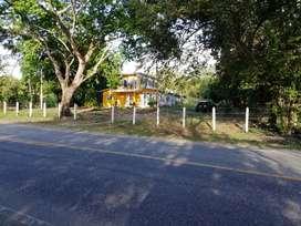 Se vende excelente casa finca en muy buen punto para negocios ubicación EL ESTRECHO PATÍA