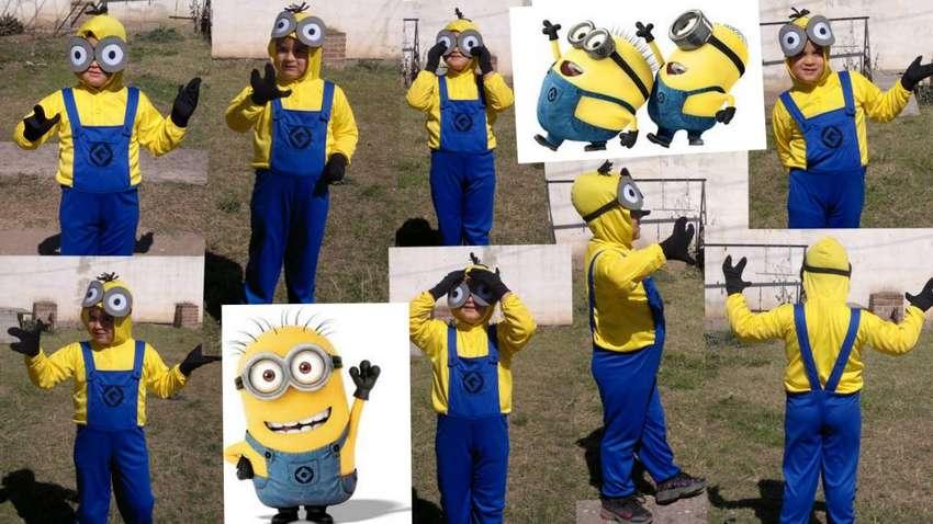 Disfraz de Minions para niño 0