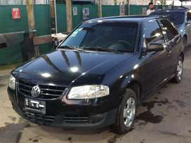 Gol power 2009 negro con gnc