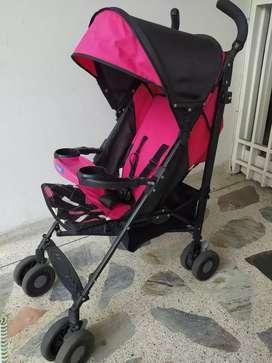 COCHE PASEADOR INFANTI ROSADO