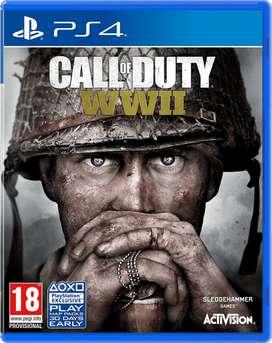 Call of Duty: WWII para PS4 Nuevo y Sellado - Entrega Inmediata