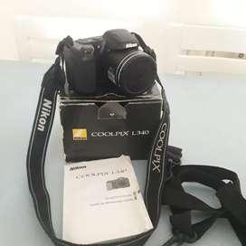 Vendo cámara Nikon L 340