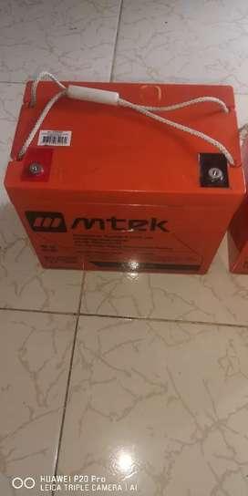 Batería Mtek 12v 75 ha