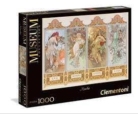ROMPECABEZAS 1000 PIEZAS DE COLECCION DE CLEMENTONI - MUCHA