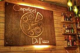 se requiere pizzero con experiencia urgente
