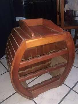 Vinoteca de madera