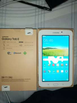 Vendo tablet galaxy TAB E