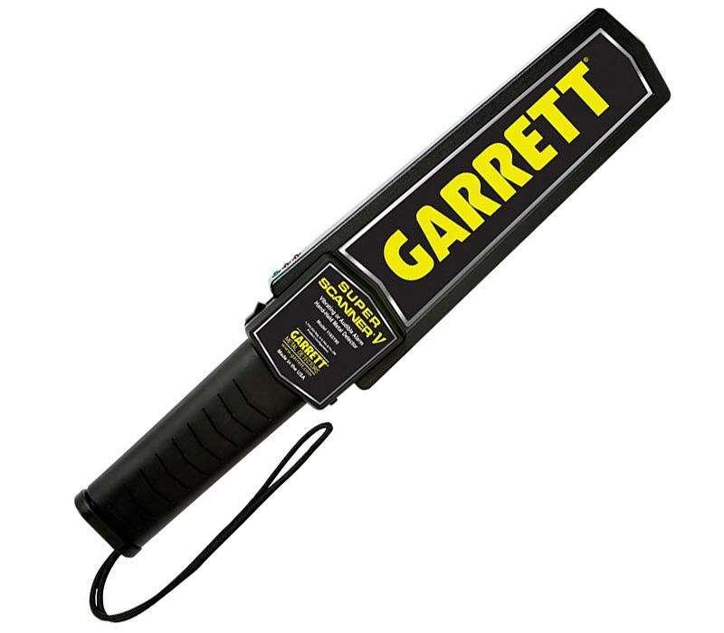 Detector Metales GARRETT SUPER SCANNER Division Seguridad 0