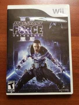 Juego Original Wii Star Wars: The Force Unleashed II Usado