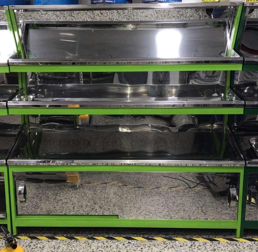 Gondola para Verdura en Acero Fabrica 0