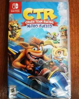Crash team racing - CTR - Nuevo - Nintendo Switch
