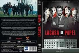 La casa de papel (2017-2018) Serie completa, 2 temporadas, 22 episodios, 2 idiomas ENVÍO INCLUIDO