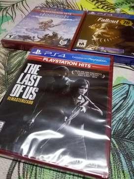 Juegos de PS4 nuevos caja sellada