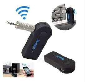 Gratis Envio Adaptador Receptor Bluetooth Música 3.5mm Aux Carro Equipo
