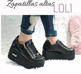 Zapatillas altas con plataforma