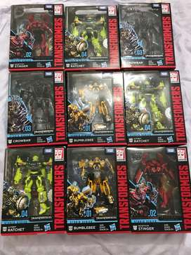 Transformers Studio Series Takara Tomy cajas selladas