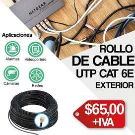 cable utp cat 6E cable de red/ cable de camaras de seguridad/ Quito-Guayaquil
