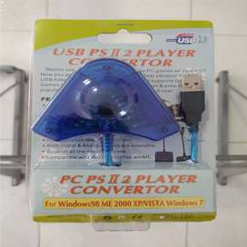 CONVERTIDOR USB NUEVO PS2 PLAY 2 PLAYSTATION 2 PC PROMOCIÓN GARANTIZADOS