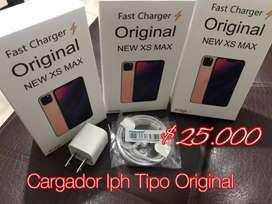 Cargadores TIPO ORIGINALES iPhone Samsung Motorola