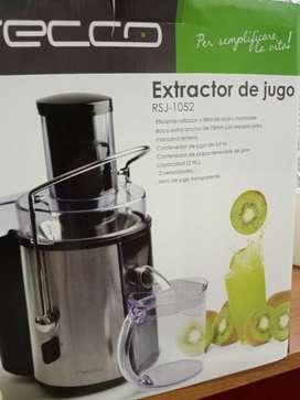 EXTRACTOR DE JUGO