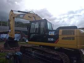 Vendo o alquilo excavadora 323dl