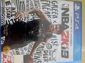 Juego PS4 NBA