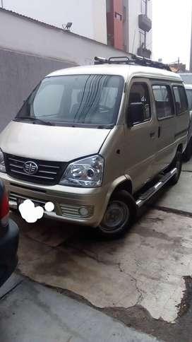 Minivan faw 8 asientos