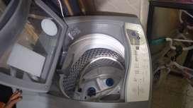 Lavadora electrolux 12 libras color gris