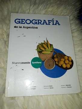 Libro de Geografía de La Argentina
