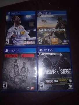Vendo juegos todos juntos