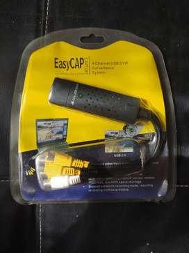 Capturadora de vídeo Easy cap