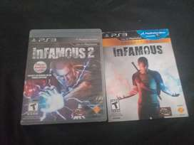 Combo infamous ps3