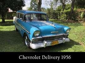 Carro Vehículo Clásico Chevrolet Delivery 1956