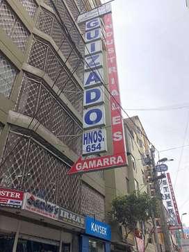 VENTA DE LOCAL COMERCIAL EN GALERIA GUIZADO -GAMARRA
