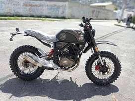 MOTO NUEVA AXXO SCRAMBLER 250 CC
