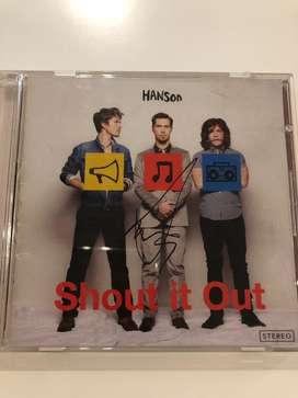 Cd Hanson (Original Firmado ) Shout it Out