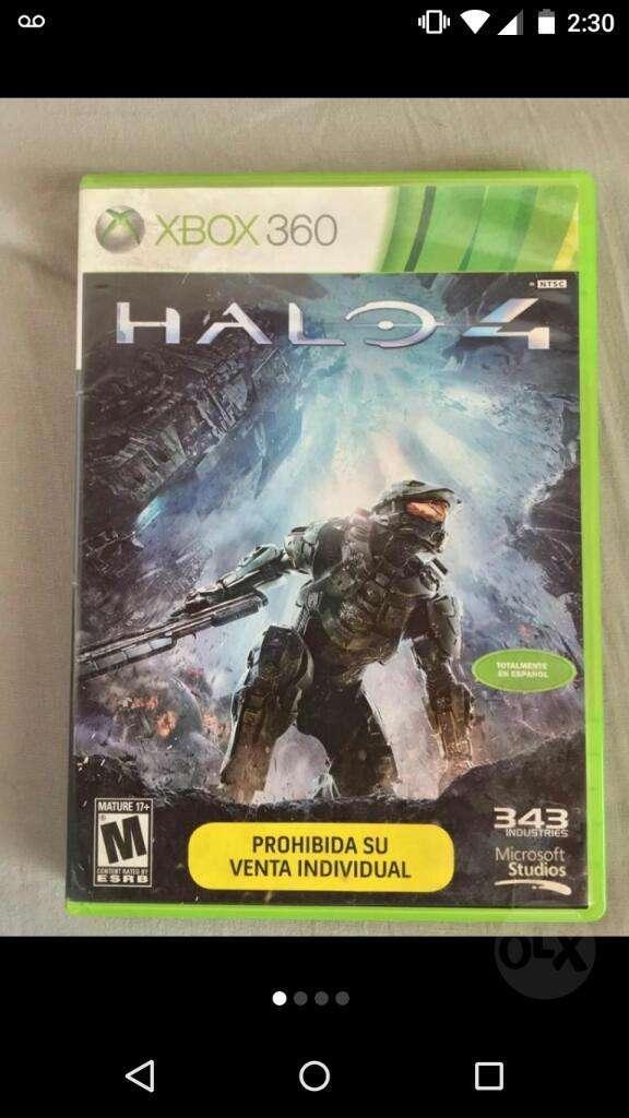 Halo 4  Original Xbox 360 0