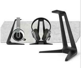 Audifonos gamer accesorio soporte de base
