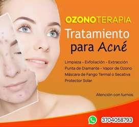 Facial con Ozonoterapia
