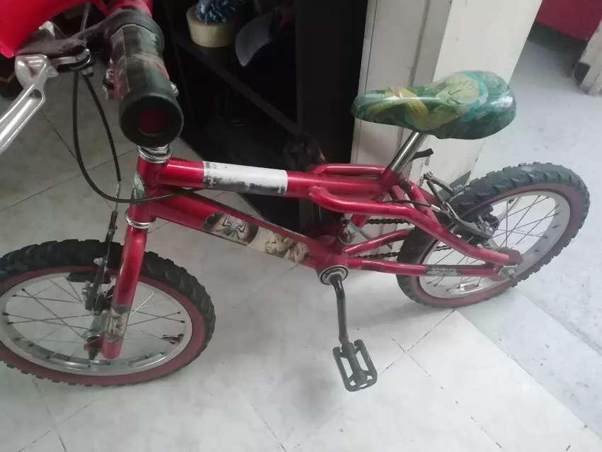 Vendo bicicleta para niño