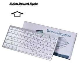 Teclado Bluetooth Español .